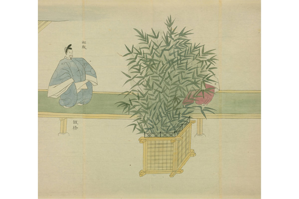'Joan Gosechi no E' (Illustrated Go-sekku in the Joan Era) Source: National Diet Library Digital Collection