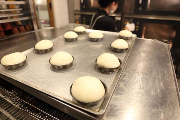パン作り写真