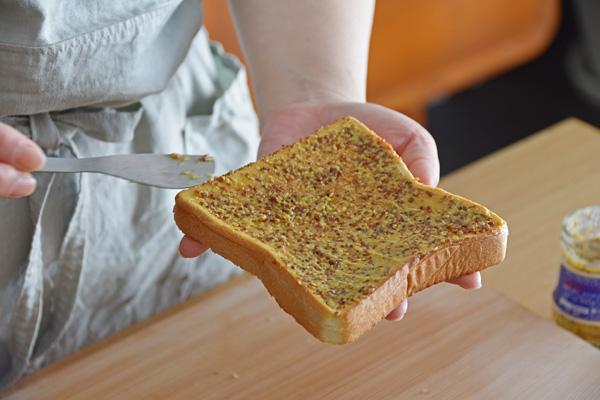 サンドイッチ作り方