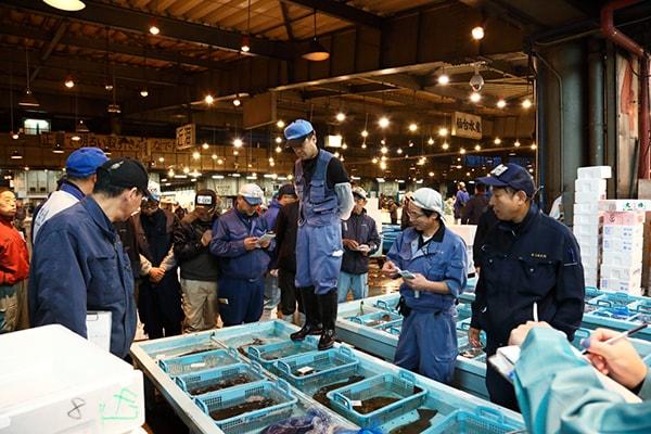 仙台市中央卸市場写真