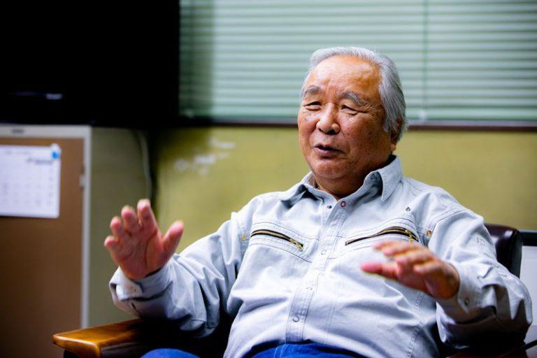 三国港機船底曳網漁業協同組合 代表理事組合長の濵出征勝さん