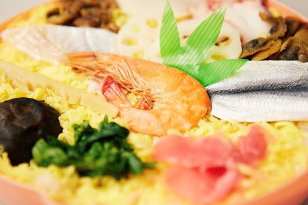 ばら寿司写真