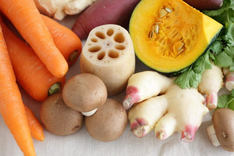 利用秋季味覺調理身體 秋季鮮蔬