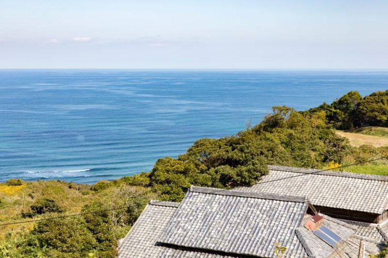 長門の海の風景
