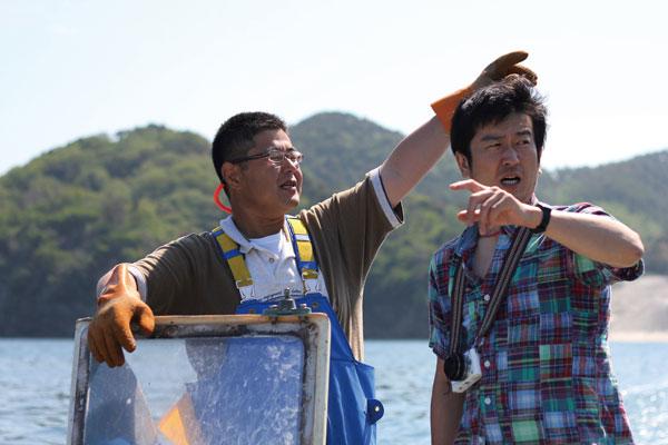 宮城県東松島市海苔漁師さん写真