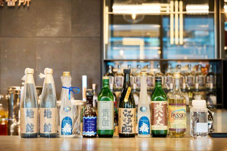 東京島しょ地域の島酒