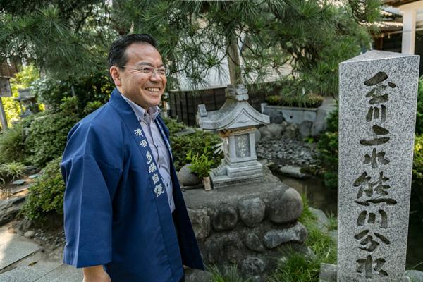 橋本恭男さん
