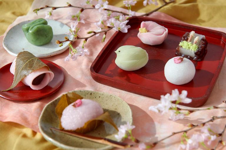 季節と出逢う「春の和菓子」