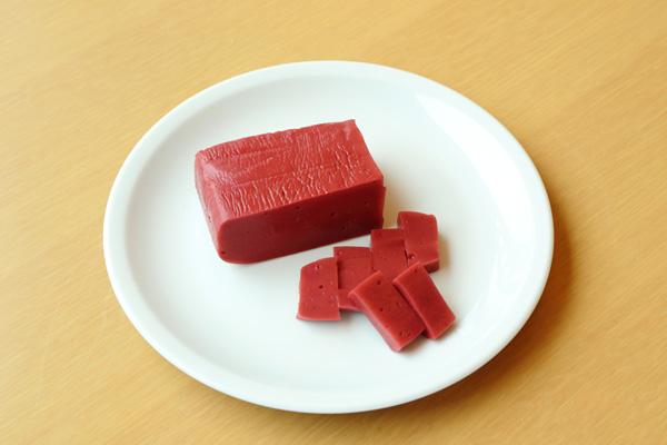 滋賀の食材⑤ 赤こんにゃく
