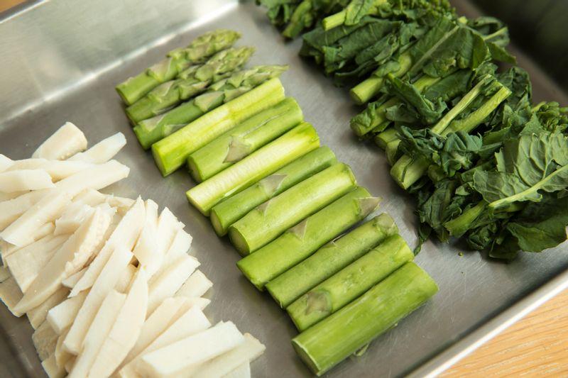 タケノコ アスパラガス 菜の花