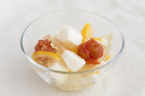 柚子長芋トマト