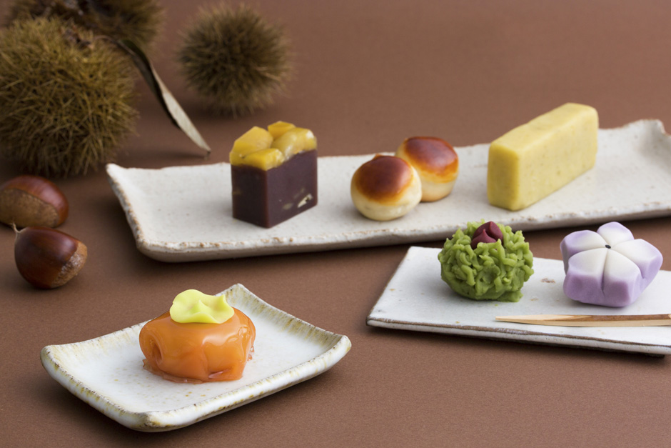 Japanese Autumntime Confectionery