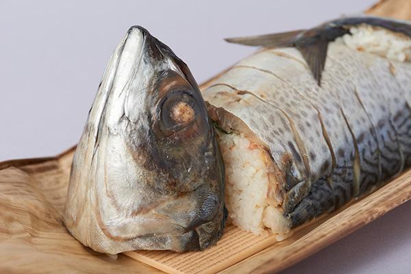 鯖の姿寿し