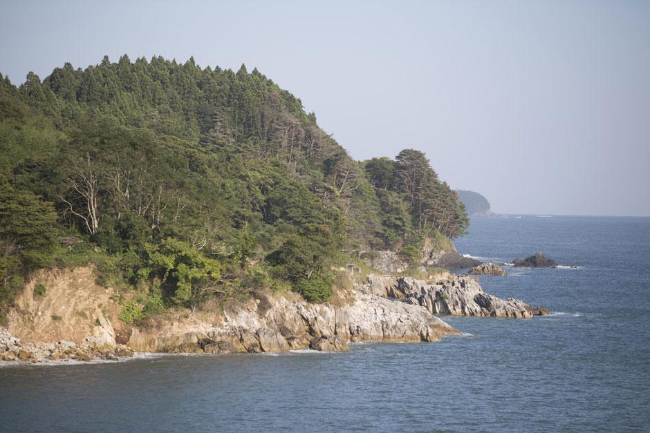 リアス式海岸写真