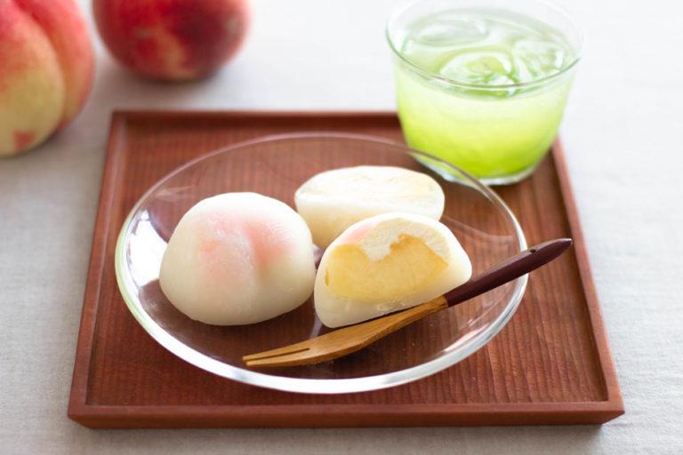 水蜜桃奶油大福