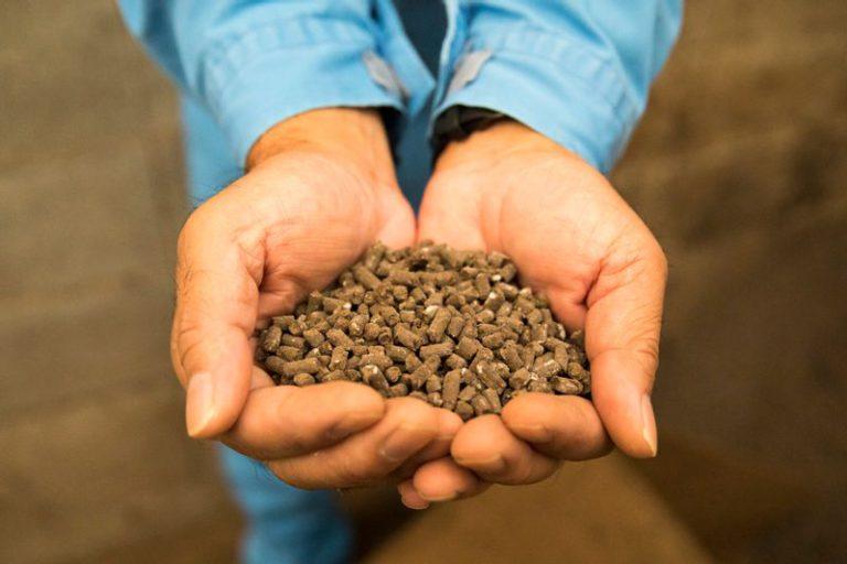 長州黒かしわの鶏ふんから作られた発酵堆肥「長州の恵」