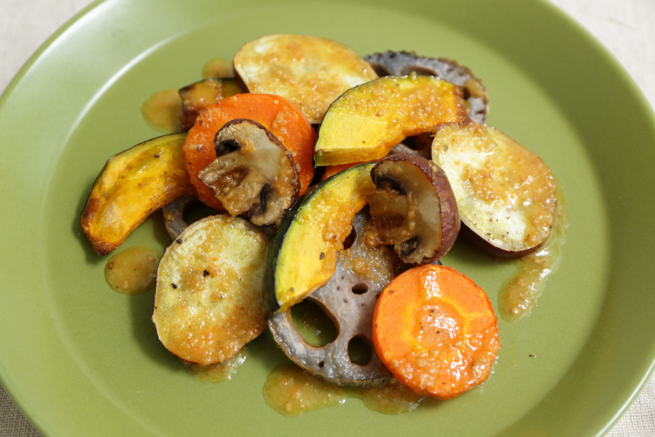 秋野菜のグリルサラダ