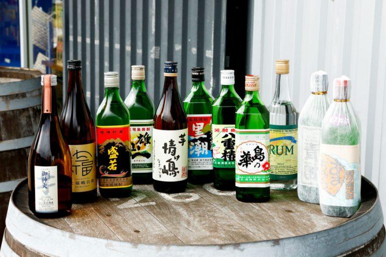 島の景色と人が滲む本格焼酎、東京の島酒