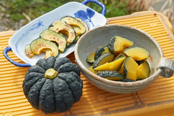 黒皮かぼちゃ料理