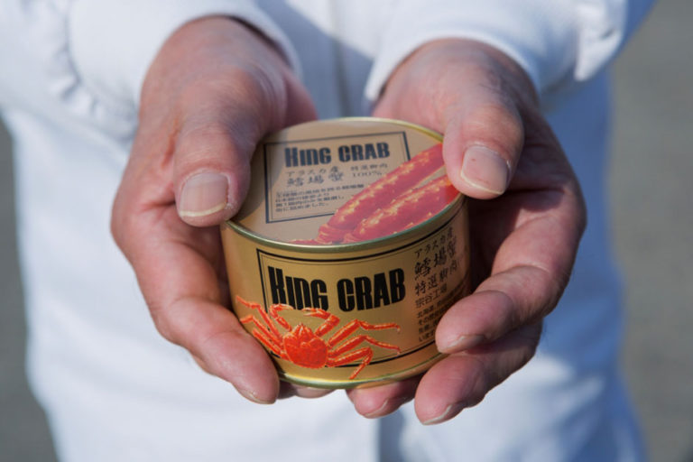The flavor of fresh crab in season, perfectly preserved in a can