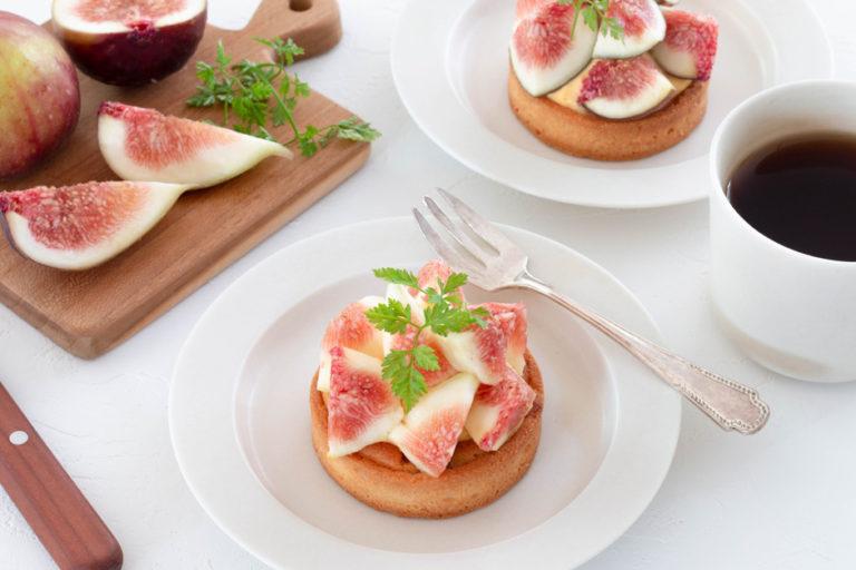 能品嚐「當季美味」的季節性甜點「無花果」