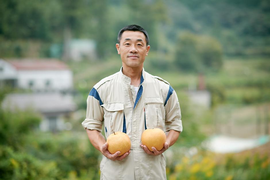 大きな梨に詰まった、地域の想い
