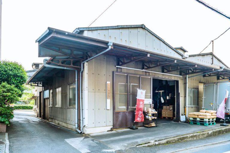 川原製粉所の店舗外観