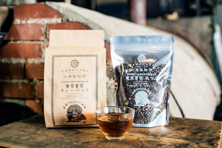 Tokyo-born Mugicha, Created with Traditional Ingredients and Sand-oven Roasting